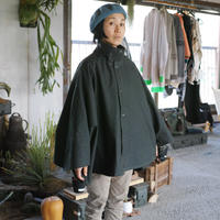 South2 West8, Waxed Cotton Cycle Cape - Solid