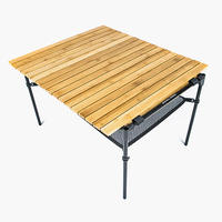 MINIMAL WORKS,MOCHA ROLL TABLE BAMBOO