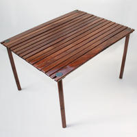 KERMIT CHAIR Kermit Wide Table Walnut