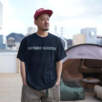 South2 West8,S/S Crew Neck Tee - RAINBOW SLEEVES
