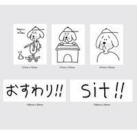SHAKASTICS,Ken Kagami 6 Sticker Pack