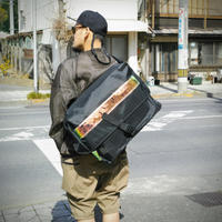 "meanswhile, X-Pac / ""Postman"" - OFF BLACK -"
