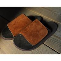 Monitaly,Leather Slide Sandal