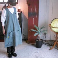 &NUT, CAMP APRON type-A / Gray