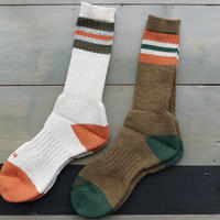Nigel Cabourn,Pile Border Socks