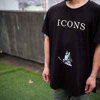 STOF, イコン刺繍ワイドTシャツ