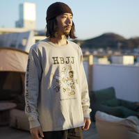 TACOMA FUJI RECORDS, HBJJ LS shirt