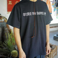 South2 West8,S/S Crew Neck Tee-TIME TO MOVE ON