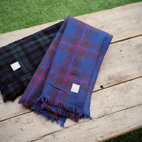 LOCALLY,cotton tartan stole /150×160cm
