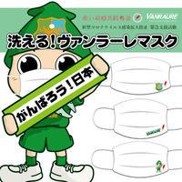 【大人用】洗えるヴァンラーレマスクセット3点セット/布製/日本製/あと27セット