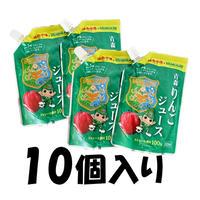 五戸町倉石産 青森りんごジュース パックタイプ(200ml)10個入り 送料込み価格
