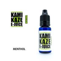 KAMIKAZE E-JUICE / MENTHOL 15ml