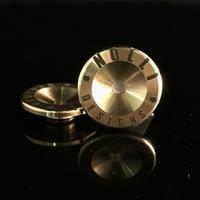NOLLI DESIGNS / The Pacer Fidget Spinner Brass Finger Grips