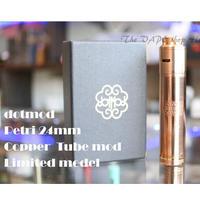 【メカニカルMOD】dotmod Petri 24mm 18650 Copper  Limited Edition tube mod ハイブリッドモデル(M5-1)
