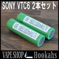 SONY VTC6 2本セット バッテリーケース付 3000mAh 20A INR 18650