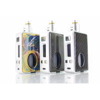 HCIGAR VT inbox DNA75 BF BOX MOD (シルバーフレーム)