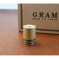 GRAM DRIP TIP colorcoat / GOLDBlast