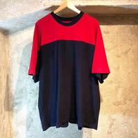 BICOLOR TEE / red