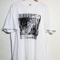 FAKE TEE / white