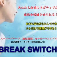 【値下げ期間を延長】   19800円→9800円 BREAK SWITCH ! 【ダウンロード販売】