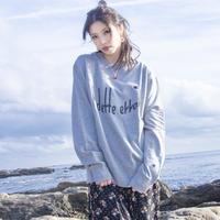VEDETTE ERROR(ヴェデットエラー) LOGO sweatshirt (gray)