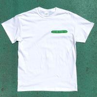 ロゴTシャツ「Vegetable Record Food / White」