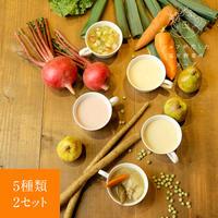 シェフが恋した塩尻野菜のスープ【冬】2セット