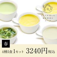シェフが恋した塩尻野菜のスープ【春】1セット