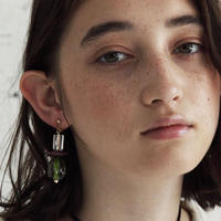 GLASS EARRINGS ガラスイヤリング/ピアス