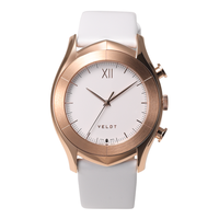 [LUXTURE] ALTAIR Series  White R - White Calf Leather Strap