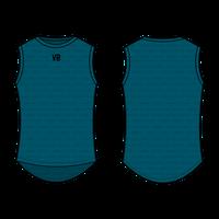 (3月上旬発売開始)Monti Sleeveless Baselayer Lagoon/  モンティ ノースリーブ春夏用ベースレイヤー/ラグーン男女兼用(VB-MR-1174)