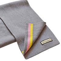 VB Merino Wool Milano Scarf/GY / メリノウール ミラノスカーフ/グレー(VB-105)