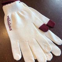 Velobici Thumb Tip Merino Womens Gloves Ivory  / ヴェロビチ サムティップ メリノウール レディースグローブ アイボリー(VB-128)