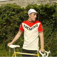 Vintage Velo Classics Wool Jersey Faemino XL/ ヴィンテージヴェロクラシックウールジャージ ファエミノ XLのみ