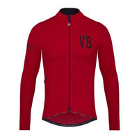 Velvet Thermal Long Sleeve Jersey  / ヴェルヴェットサーマルジャージ  長袖 男女兼用VB-VVTJ