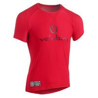 Performance Mesh Baselayer Short Sleeve Red / パフォーマンス メッシュ 春夏用ベースレイヤー Red(半袖)(VB-152R)