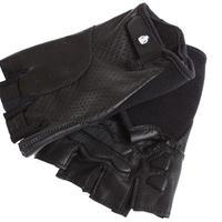 [ブリックレーンバイクス] BLBクラシック本革サイクリンググローブ BLB Classic Leather Cycling Glove オールブラック GLBB500