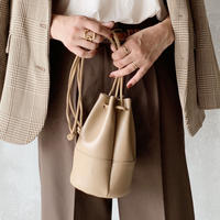 drawstring bag[beige]