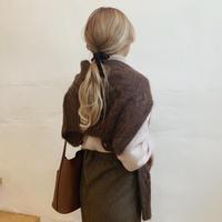 kidmohair knit cardigan