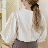 back button volume sleeve blouse[off-white]