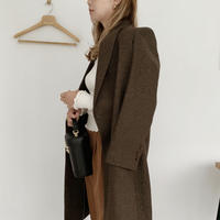 long tailored jacket[brown]