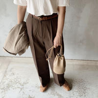 basic slacks[brown]