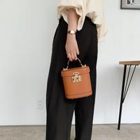 wide slacks[black]