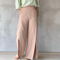 【即納】slit slacks[beige]