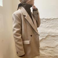 【即納】bore jacket[beige]