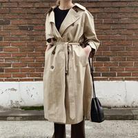 side slit trench coat[beige]