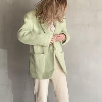 wool mohair jacket