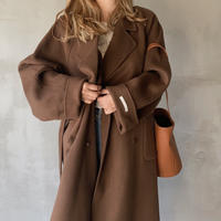 handmade gown long coat[brown]