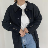 handmade coat[navy]