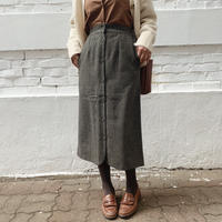 【即納】check pencil skirt[khaki]
